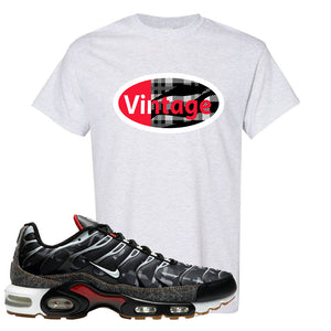 Air Max Plus Remix Pack T Shirt | Vintage Oval, Ash