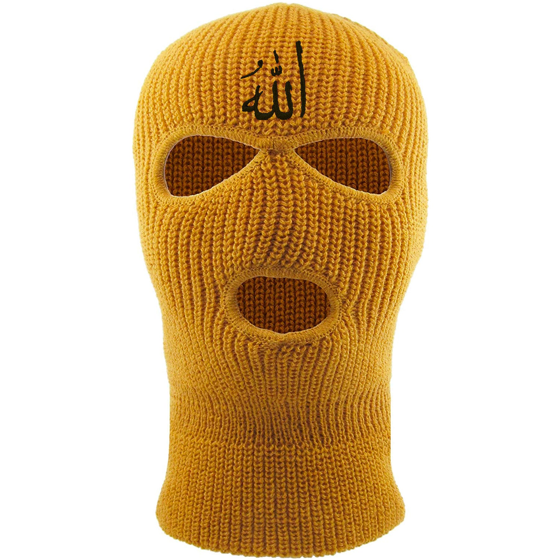 d6e8471cc29 Embroidered on the front of the timberland Allah ski mask is the arabic  writing for the
