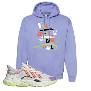 Ozweego Chaos Hoodie | Violet, I'll Rock Your World