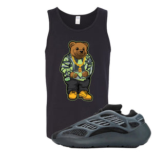 Yeezy 700 v3 Alvah Tank Top | Black, Sweater Bear