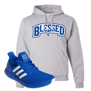 Ultra Boost 1.0 Kansas Hoodie | Blessed Arch, Ash