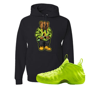 Air Foamposite Pro Volt Hoodie | Sweater Bear, Black