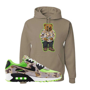 Air Max 90 Duck Camo Ghost Green Hoodie | Khaki, Sweater Bear