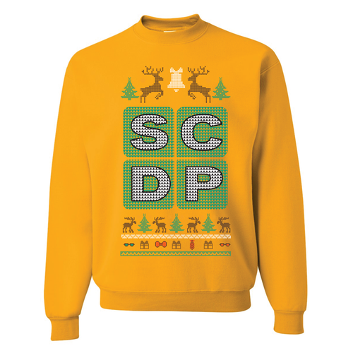 FOOT CLAN | SCDP UGLY SWEATER | CREWNECK SWEATSHIRT | GOLD