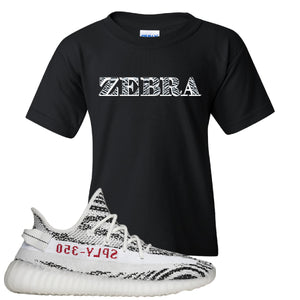 Yeezy Boost 350 V2 Zebra Them 350's Tho White Sneaker Hook Up Women's T-Shirt