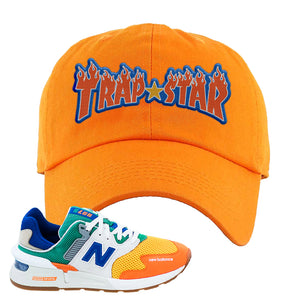 997S Multicolor Sneaker Orange Dad Hat | Hat to match New Balance 997S Multicolor Shoes | Trap Star