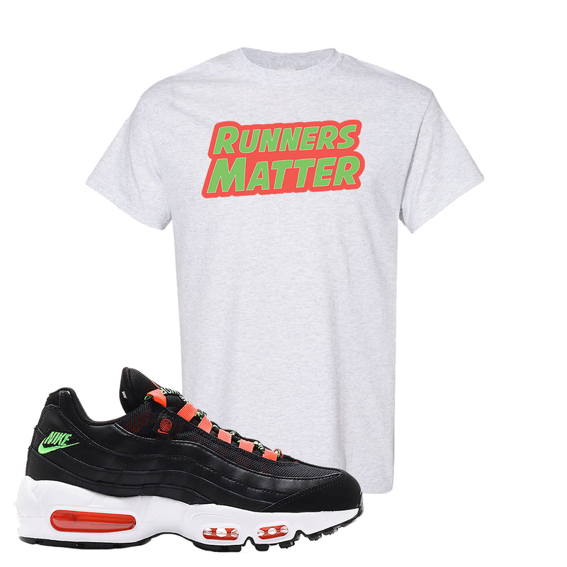 Air Max 95 Worldwide Black Green T Shirt | Ash, Runners Matter