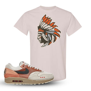 Air Max 1 Amsterdam City Pack Sneaker Natural T Shirt | Tees to match Nike Air Max 1 Amsterdam City Pack Shoes | Indian Chief