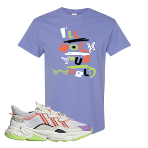 Ozweego Chaos T Shirt | Violet, I'll Rock Your World