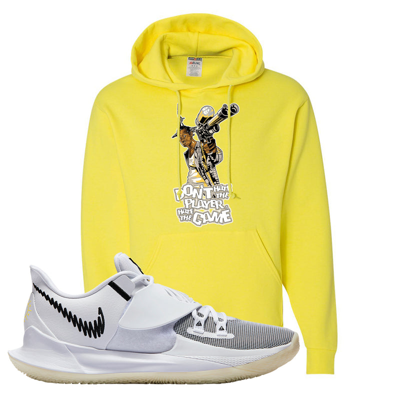 Kyrie Low 3 Hoodie | Yellow, Don't Hate The Playa