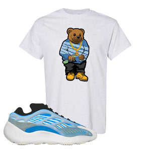 Yeezy 700 v3 Azareth T Shirt | Ash, Sweater Bear
