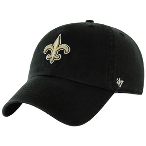 New Orleans Saints Classic Black '47 Brand Adjustable Dad Hat