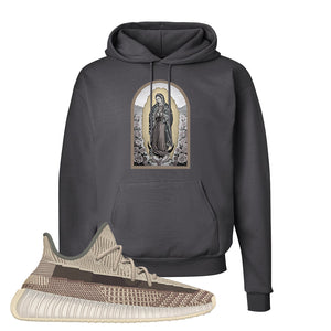 Yeezy 350 v2 Zyon Hoodie | Smoke Grey, Virgin Mary