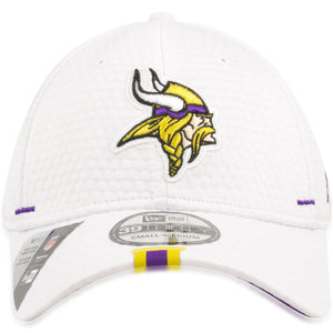 Minnesota Vikings 2019 Training Camp White 39Thirty Flexfit Cap