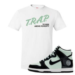 Dunk High All Star 2021 T Shirt | Trap To Rise Above Poverty, White