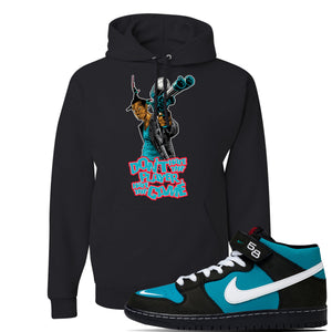 SB Dunk Mid 'Griffey' Hoodie | Black, Dont Hate The Player