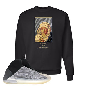 Yeezy Quantum Crewneck | Black, God Told Me