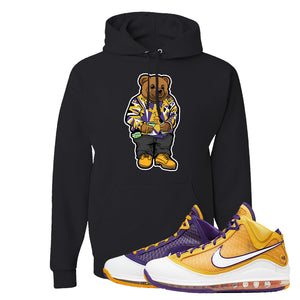 Lebron 7 'Media Day' Hoodie | Black, Sweater Bear