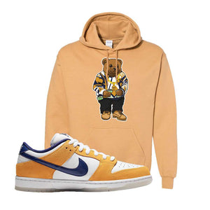 SB Dunk Low Laser Orange Hoodie | Old Gold, Sweater Bear