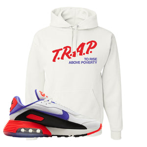 Air Max 2090 Evolution Of Icons Hoodie | Trap To Rise Above Poverty, White