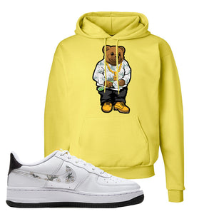 Air Force 1 Hoodie | Yellow, Sweater Bear