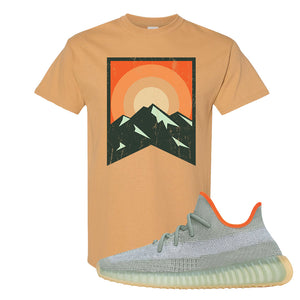Yeezy 350 V2 Desert Sage T Shirt | Old Gold, Yellow Stone Park