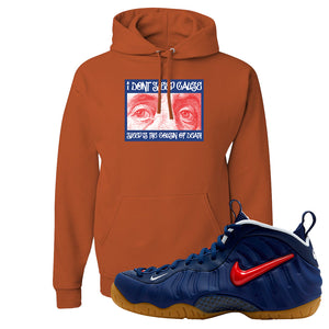 Air Foamposite Pro USA Hoodie | Texas Orange, Franklin Eyes