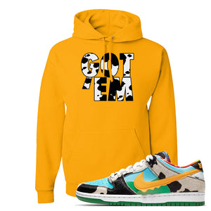SB Dunk Low 'Chunky Dunky' Hoodie | Gold, Got Em