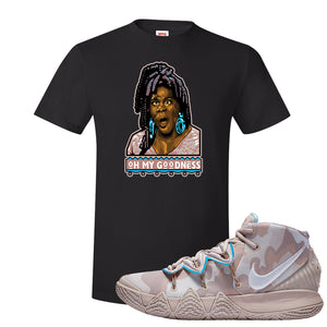 Nike Kybrid S2 What The Inline T-shirt | Oh My Goodness, Black