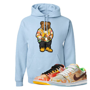 SB Dunk Low Street Hawker Hoodie | Sweater Bear, Light Blue