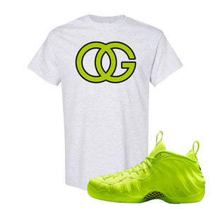 Air Foamposite Pro Volt T Shirt | OG, Ash