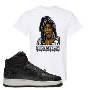 Air Force 1 High Hotline T Shirt | Oh My Goodness, White