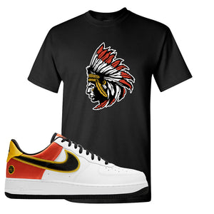 Air Force 1 Low Roswell Rayguns T Shirt | Indian Chief, Black