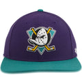 Anaheim Ducks Two Tone Purple / Teal Youth Adjustable Snapback Hat