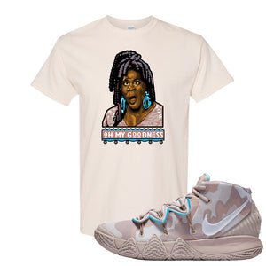 Nike Kybrid S2 What The Inline T-shirt | Oh My Goodness, Natural