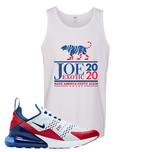 Air Max 270 USA Tank Top | White, Joe Exotic 2020