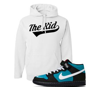 SB Dunk Mid 'Griffey' Hoodie | White, The Kid