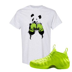 Air Foamposite Pro Volt T Shirt | Boxing Panda, Ash