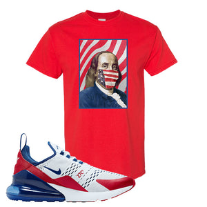 Air Max 270 USA T Shirt | Red, Franklin Mask