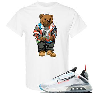 Air Max 2090 Pure Platinum T Shirt | Sweater Bear, White