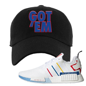 NMD R1 Olympic Pack Dad Hat | Black, Got em