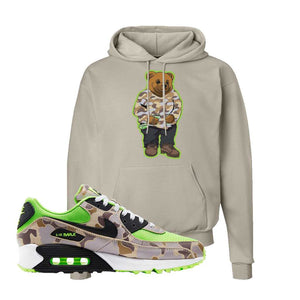 Air Max 90 Duck Camo Ghost Green Hoodie | Sand, Sweater Bear