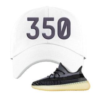 Yeezy Boost 350 V2 Asriel Carbon Dad Hat | 350, White