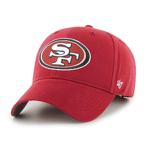 San Francisco 49ers Red Youth-Sized Adjustable Dad Hat