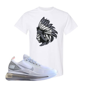 Air Max 720 Utility White T Shirt | White, Indian Chief