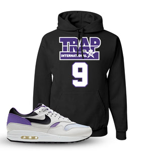 Air Max 1 DNA Series Sneaker Black Pullover Hoodie | Hoodie to match Nike Air Max 1 DNA Series Shoes | Trap International