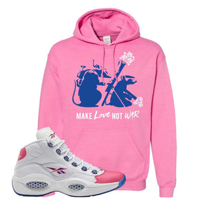 Question Mid Pink Toe Hoodie | Army Rats, Azalea