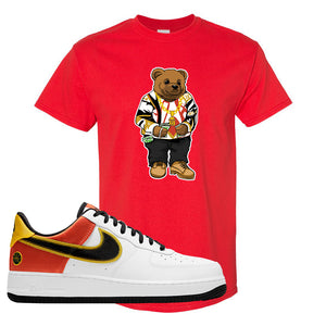 Air Force 1 Low Roswell Rayguns T Shirt | Sweater Bear, Red