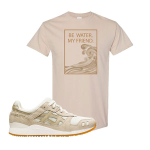 GEL-Lyte III 'Monozukuri Pack' T Shirt | Sand, Be Water My Friend Wave