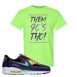 Air Max 90 Cheetah T Shirt | Them 90's Tho, Neon Green